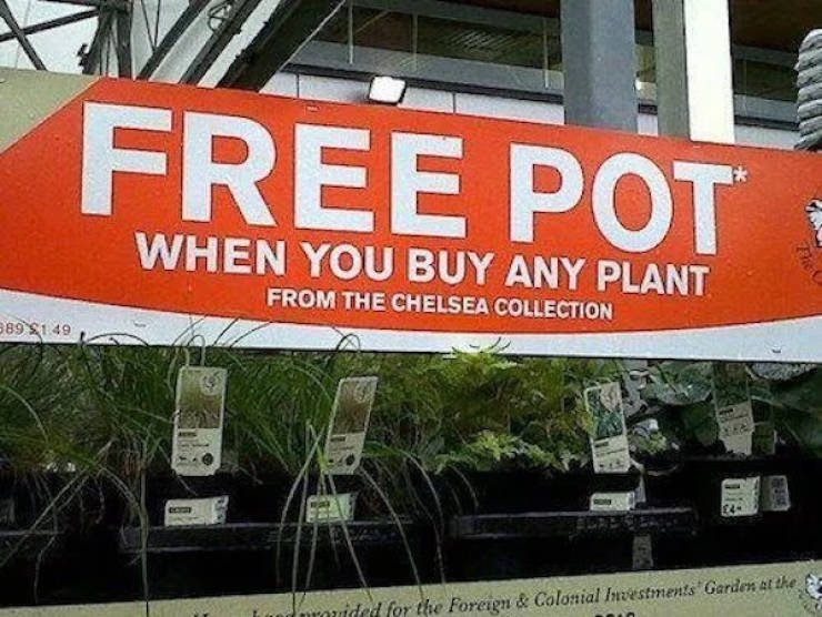 Funny Signs Are Always Appreciated