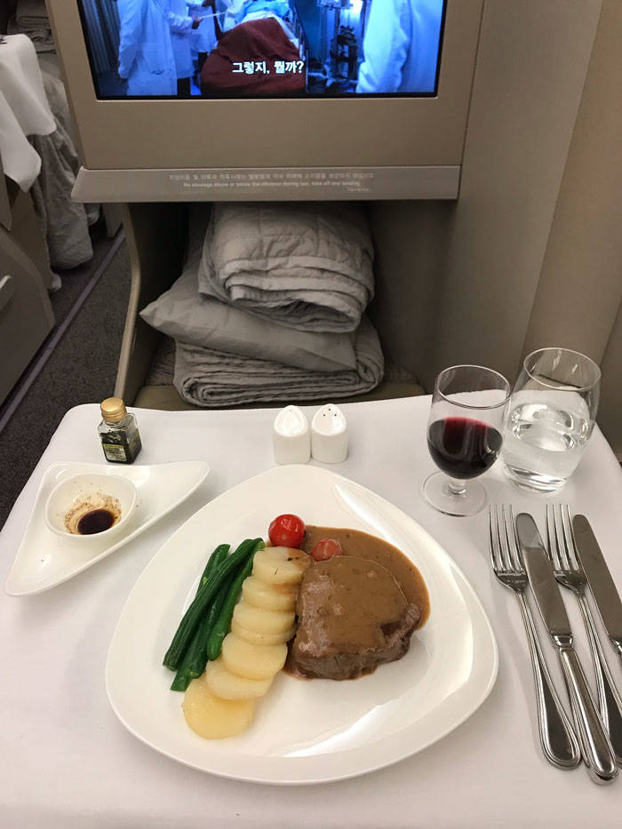 So, First Class Is Really Different From Economy…