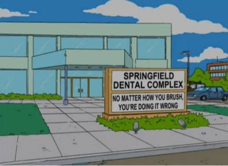 """""""The Simpsons"""" Signs Are The Best!"""