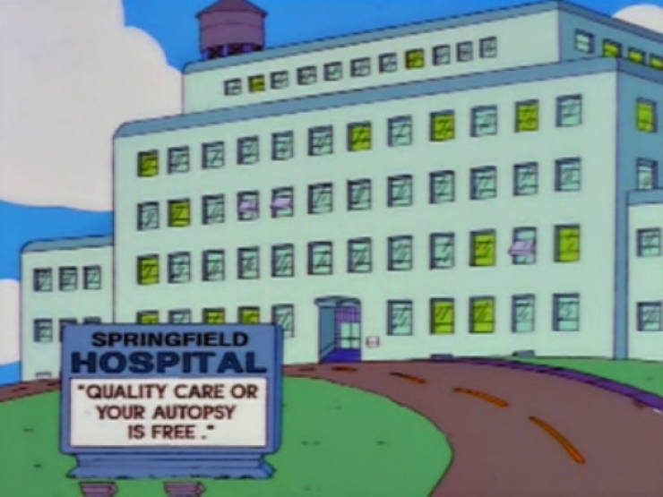 """The Simpsons"" Signs Are The Best!"