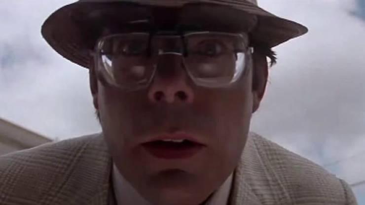 Stephen King Is Kinda Creepy, Especially In Movies