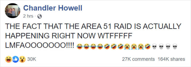 """So, About That """"Area 51"""" Raid…"""