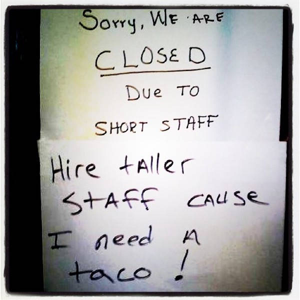Workplace Signs Save The Day Once Again