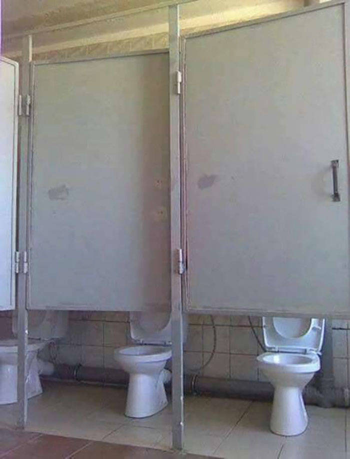 These Toilets Don't Look Nice