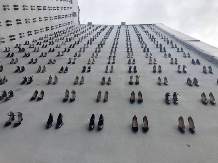This Turkish Memorial Commemorates 440 Women Killed By Their Husbands Last Year