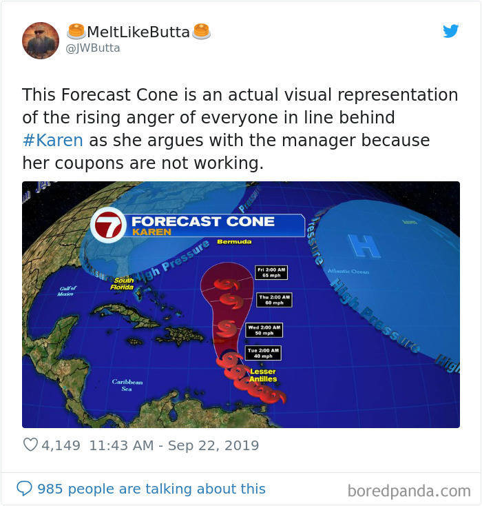 Tropical Storm Karen Is Already Looking For Your Manager