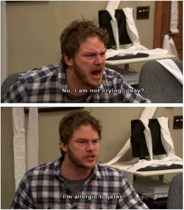 "Andy Dwyer From ""Parks And Recreation"" Is Such A Sweet Big Baby"