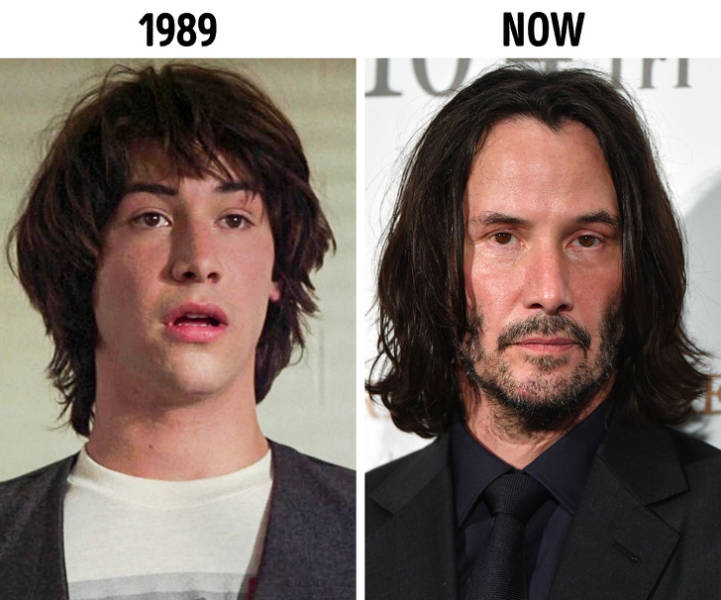 Celebrities At The Beginning Of Their Career And Now