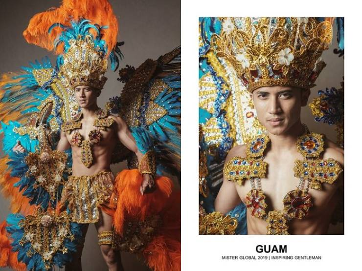 """Mister Global"" Contestants Dress In Their National Costumes And That's Really Bada##"