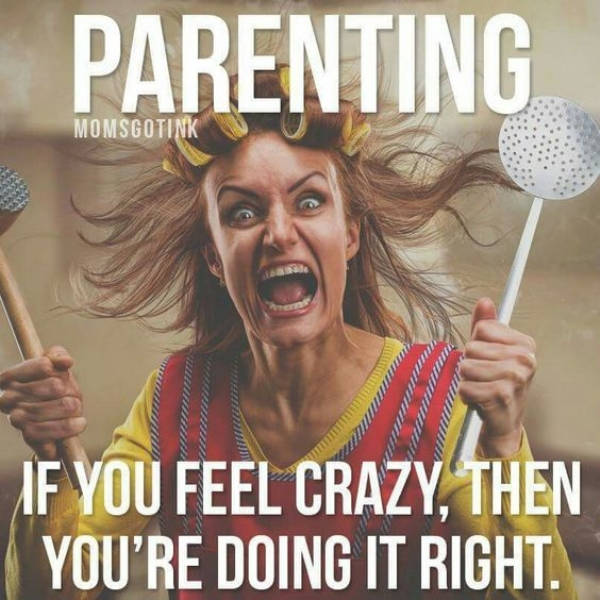 Parents Of Teenagers, Hang On