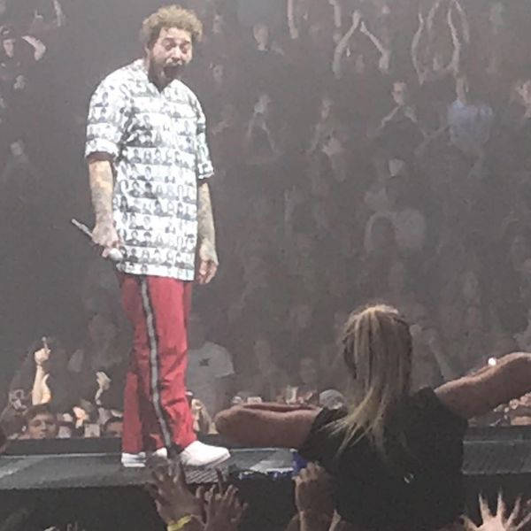Post Malone Being Flashed At A Concert Becomes A Meme
