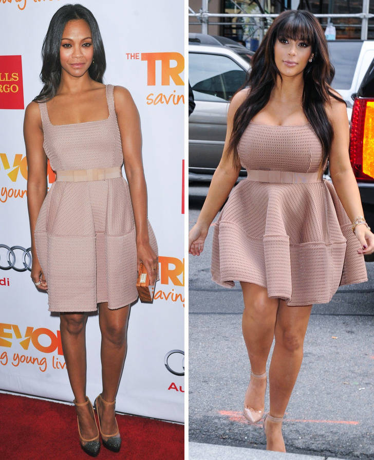 Celebs Who Wore Identical Outfits