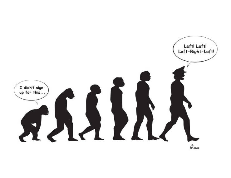 Evolution From A Very Different Perspective…