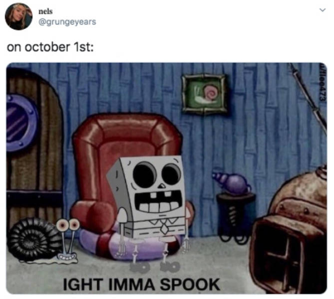 Is It October Already? It's Spooky Time!