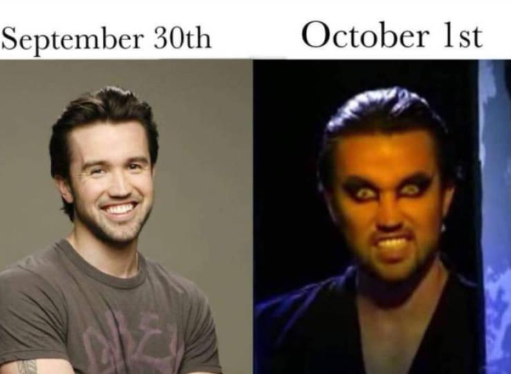 """It's Always Sunny"" When It's October"