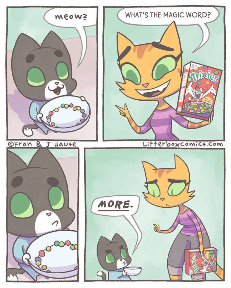 Mom Creates Comics About Her Life With Two Sons As Cats