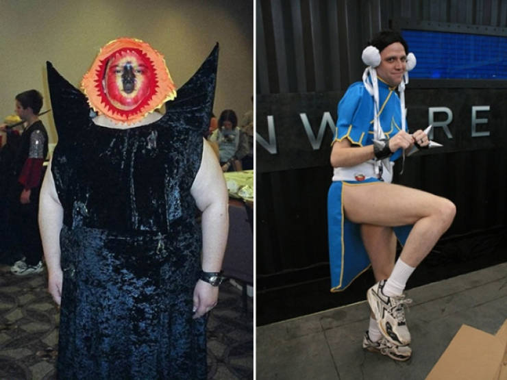 Don't. Do. Low Cost Cosplay.