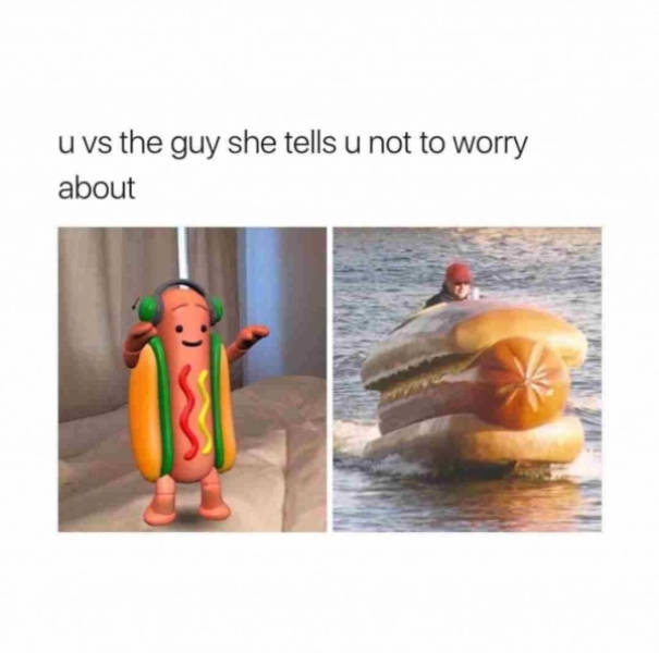Are You Hungry For Some Hot Dog Memes?