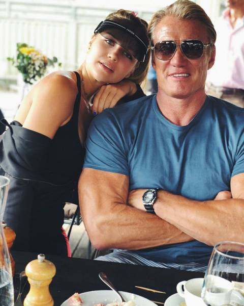 Dolph Lundgren's Daughter Is All Grown Up And Beautiful