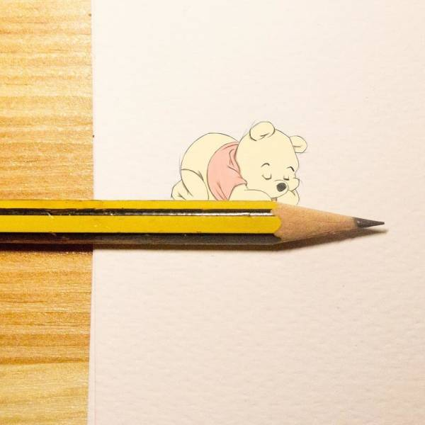 Illustrations That Look Both Very Cartoonish And Very Real