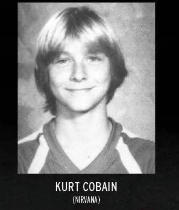 Rockstars Who Absolutely Rocked Their Yearbooks