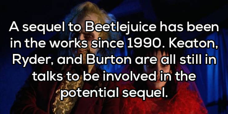 """Spooky Facts About """"Beetlejuice"""""""