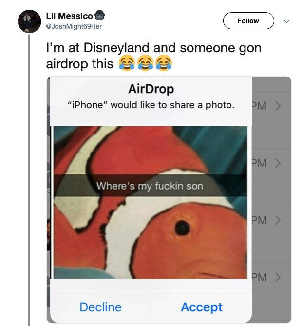AirDrop Trolling Is The Best Form Of Trolling