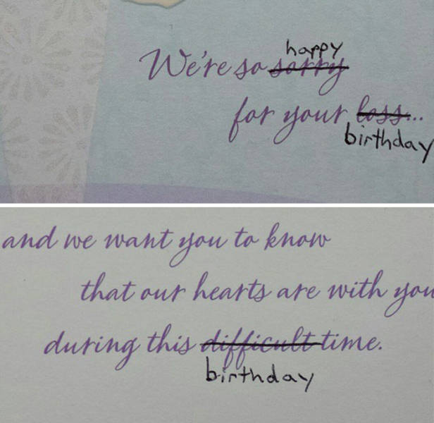 Edited Greeting Cards Are Even Better!
