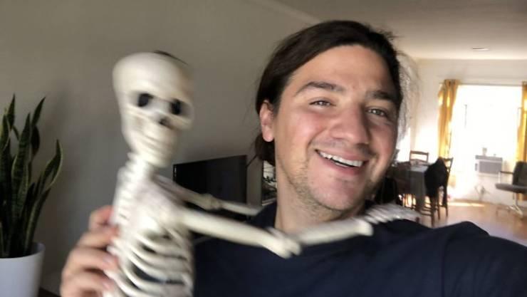 Skeleton Finally Gets Adopted