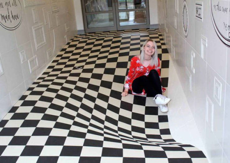 These Floors Can Mess With Your Brain