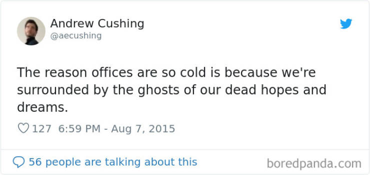 Warm Yourself With These Freezing Office Memes
