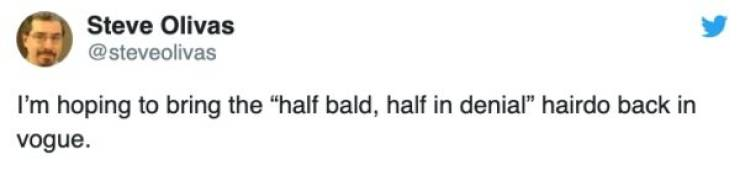 Nothing Wrong With Going Bald
