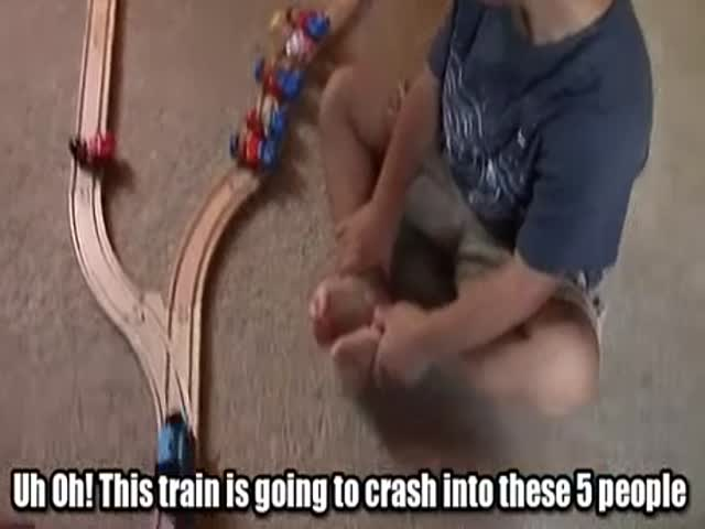 Which Way Should The Train Go?