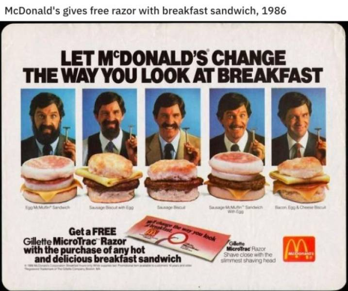 Fast Food Restaurants Back In The 1980s