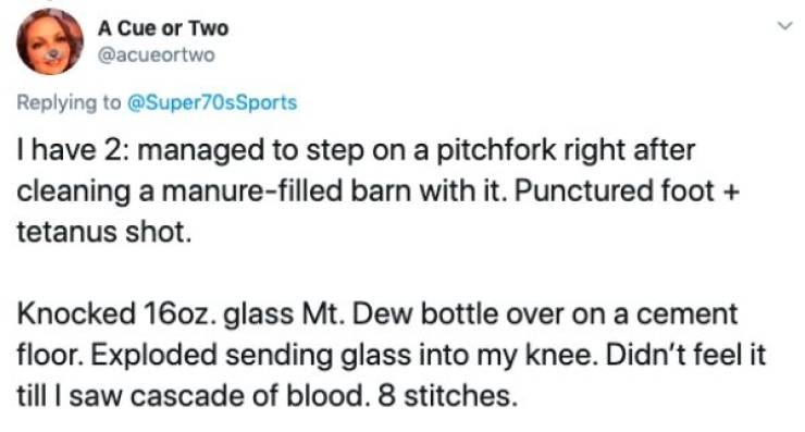 People Always Find Dumb Ways To Injure Themselves