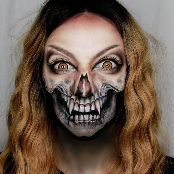 This Makeup Artist's Works Are Super Creepy