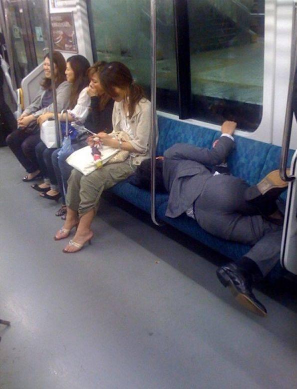 They Can Sleep Anywhere!