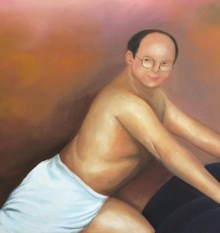 Guy Orders A (!) George Constanza Painting, Ends Up Being Very Unsatisfied