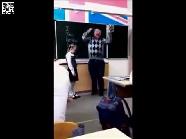 Teacher Gets What He Deserves