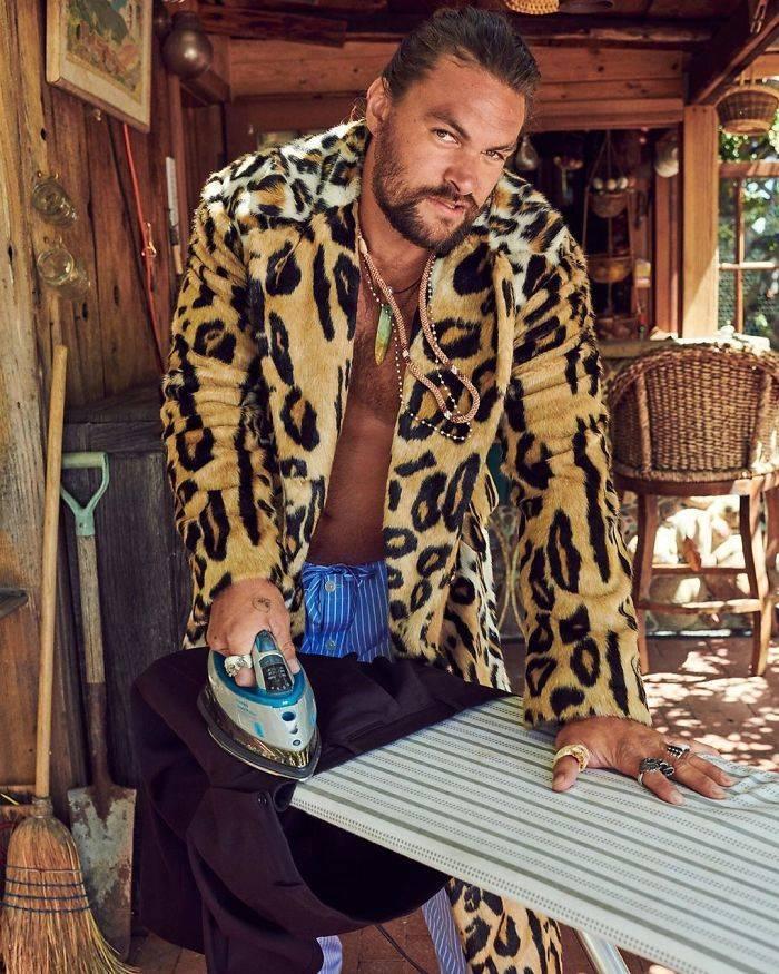 Jason Momoa Hits The World With A Classy Photoshoot