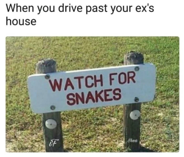 Just Get Over These Ex Memes