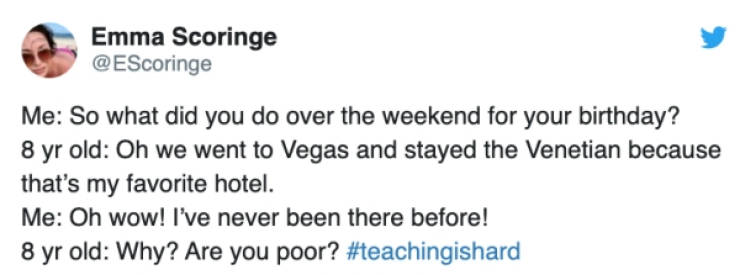 Teacher Tweets Are A Thankless Job