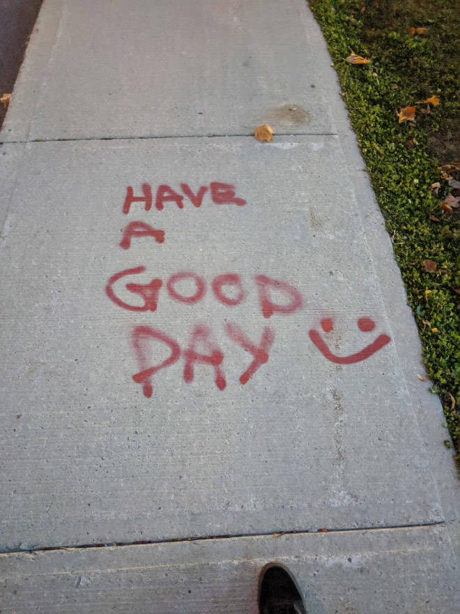 These Are Some Very Nice And Polite Vandals