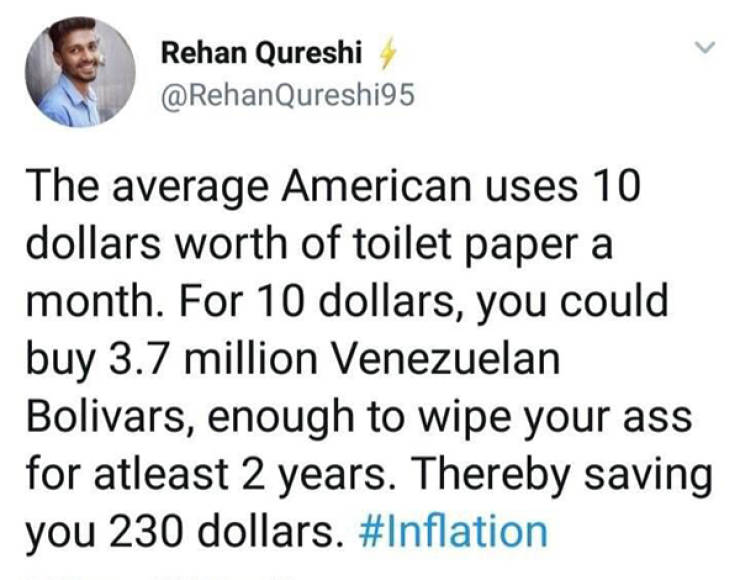 Who Needs Math In First World, Right?