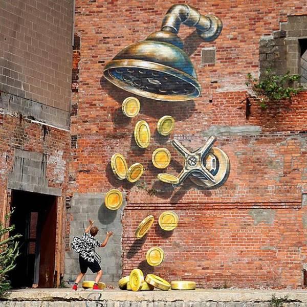 Murals That Almost Look Alive