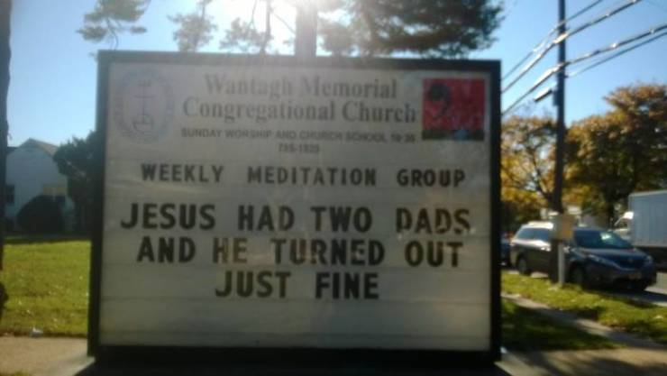 This Church Has Some Of The Most Clever Signs