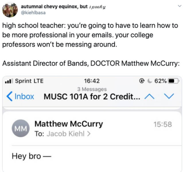 College Emails Are Just As Weird As College Itself
