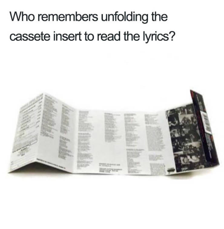 Do You Still Recognize These?
