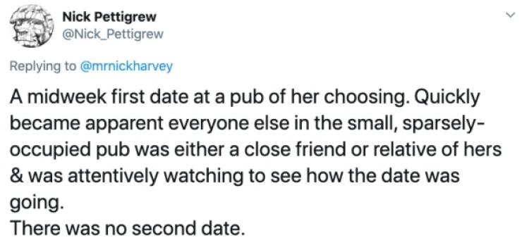 Yeah, First Dates Are Great…