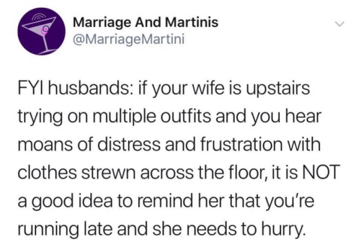 Marriage Must Be Great, Right?